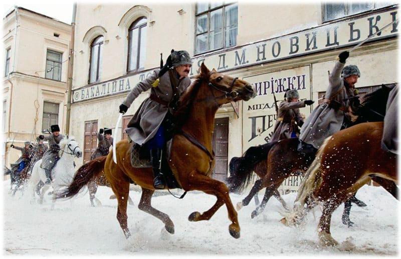 Белая гвардия: атака петлюровцев