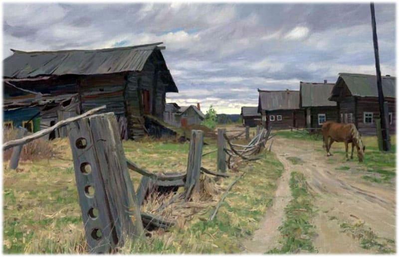 Эти бедные селенья, Тютчев