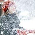 Снегопад сочинение