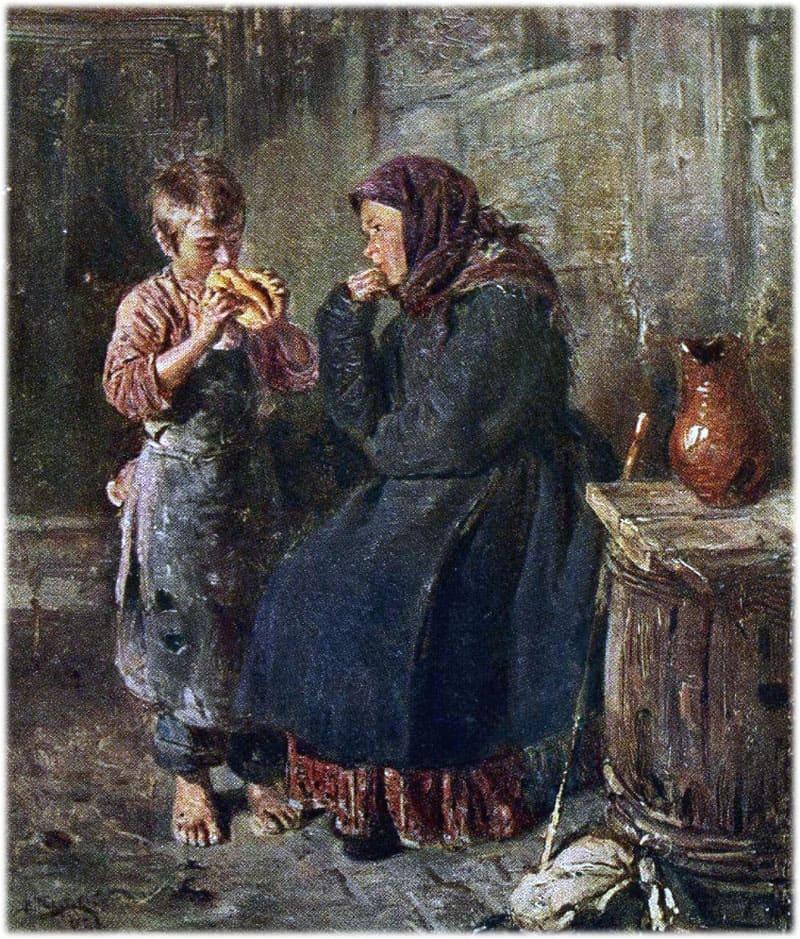 Картина Маковского Свидание