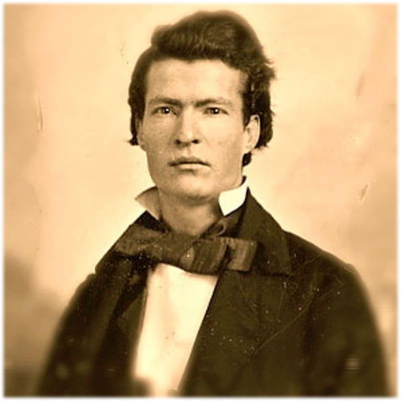Марк Твен молодой фото