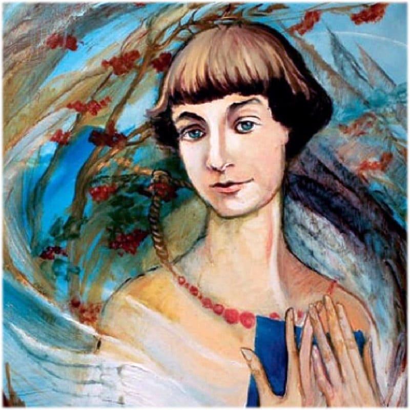 Марина Ивановна Цветаева портрет