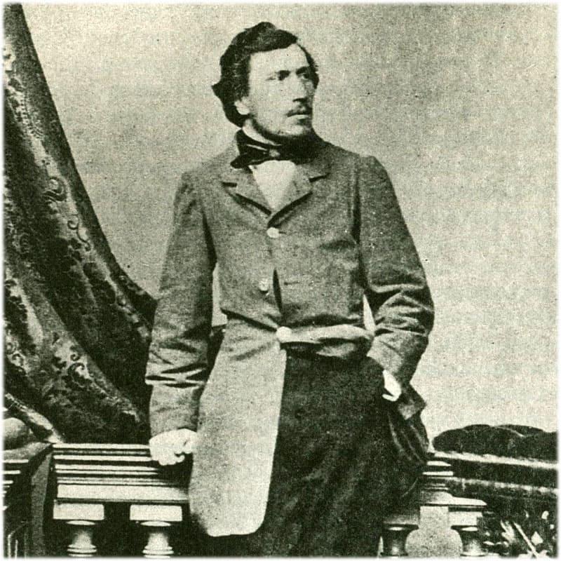 Н.С. Лесков молодой. Фото 1860 г