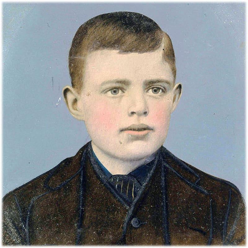 Джек Лондон фото в детстве