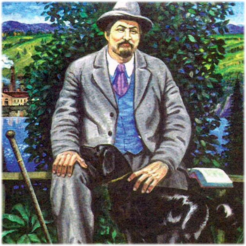 Мамин-Сибиряк портрет