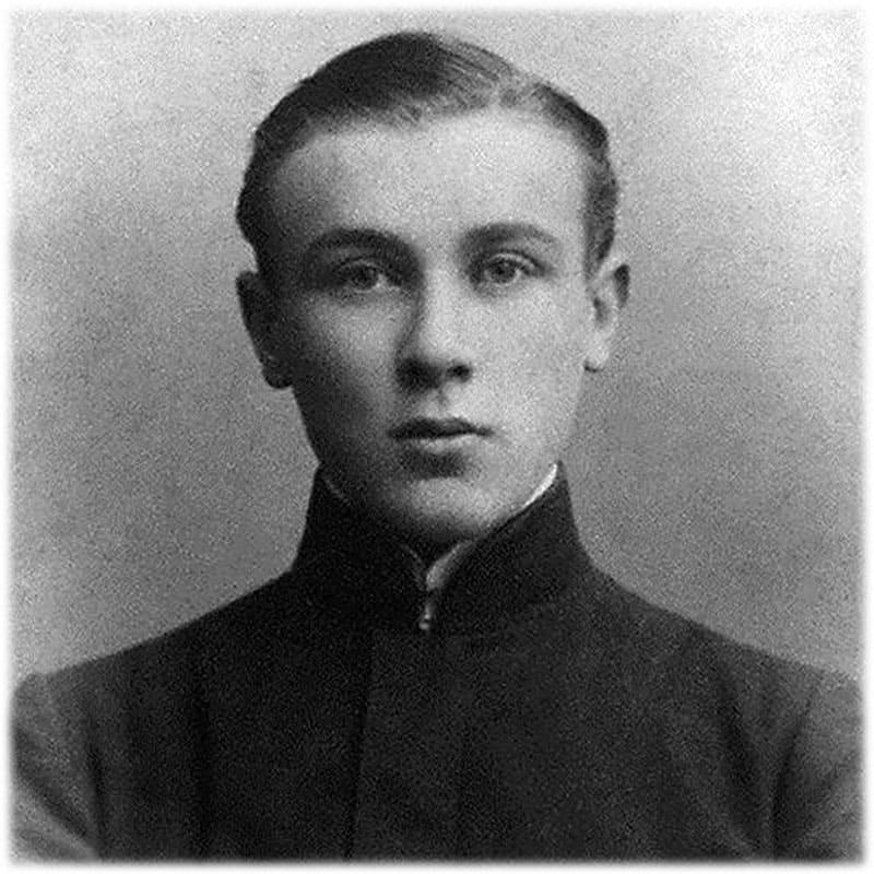 Фото Михаила Булгакова в юности