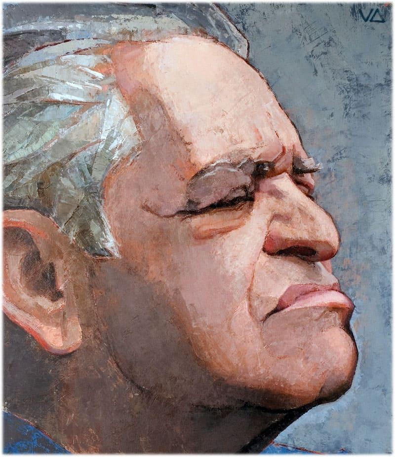 Фазиль Искандер портрет