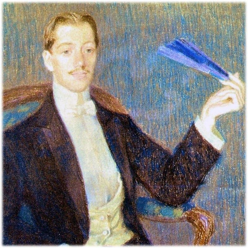 Николай Гумилев портрет