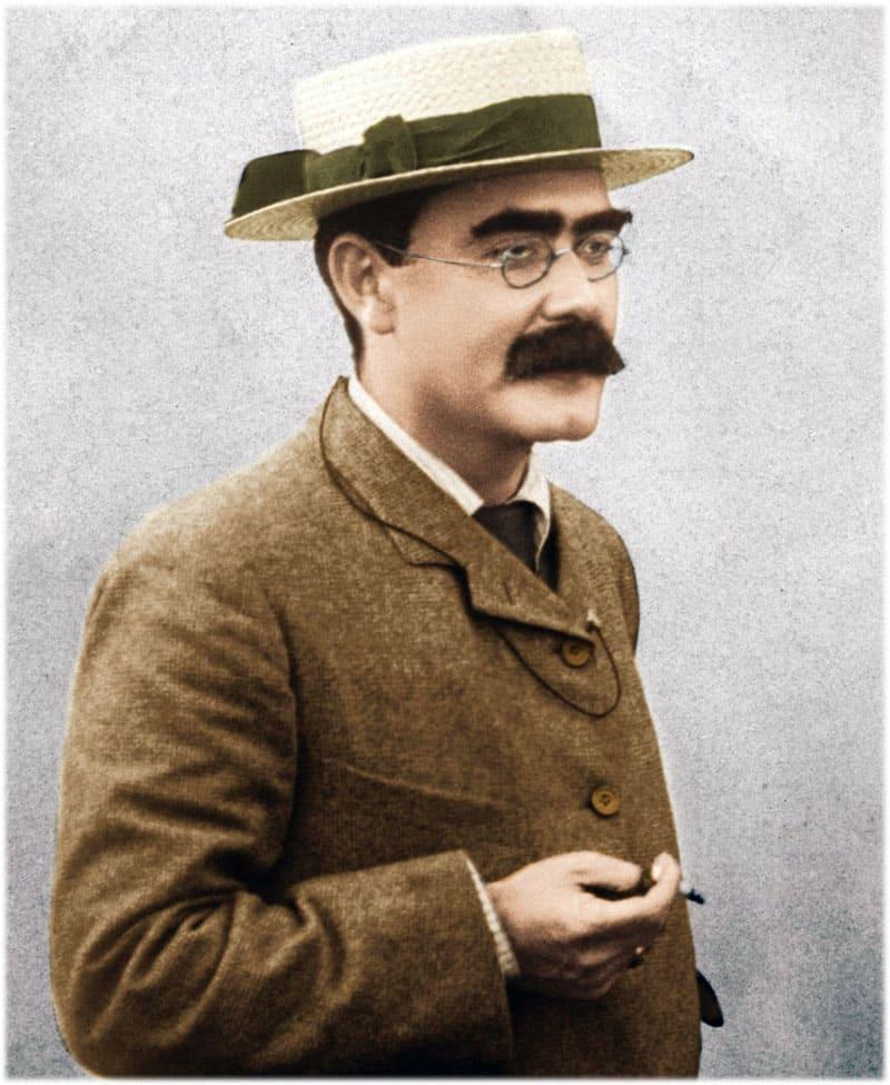 Редьярд Киплинг портрет