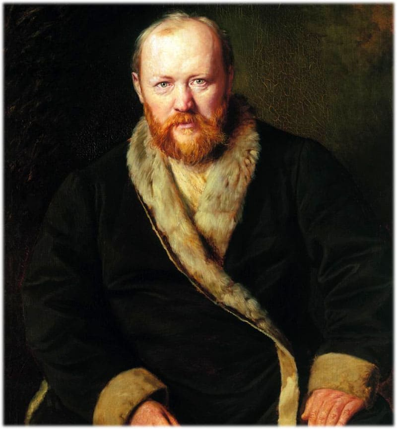 А.Н. Островский портрет