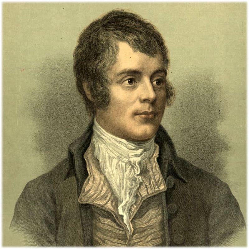 Роберт Бернс портрет