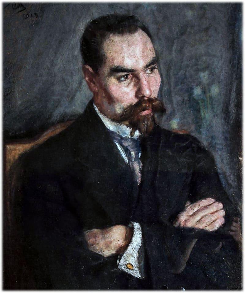 Брюсов Валерий Яковлевич портрет
