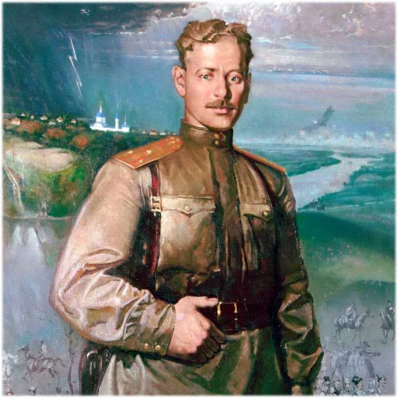 В годы войны Шолохов был военным корреспондентом