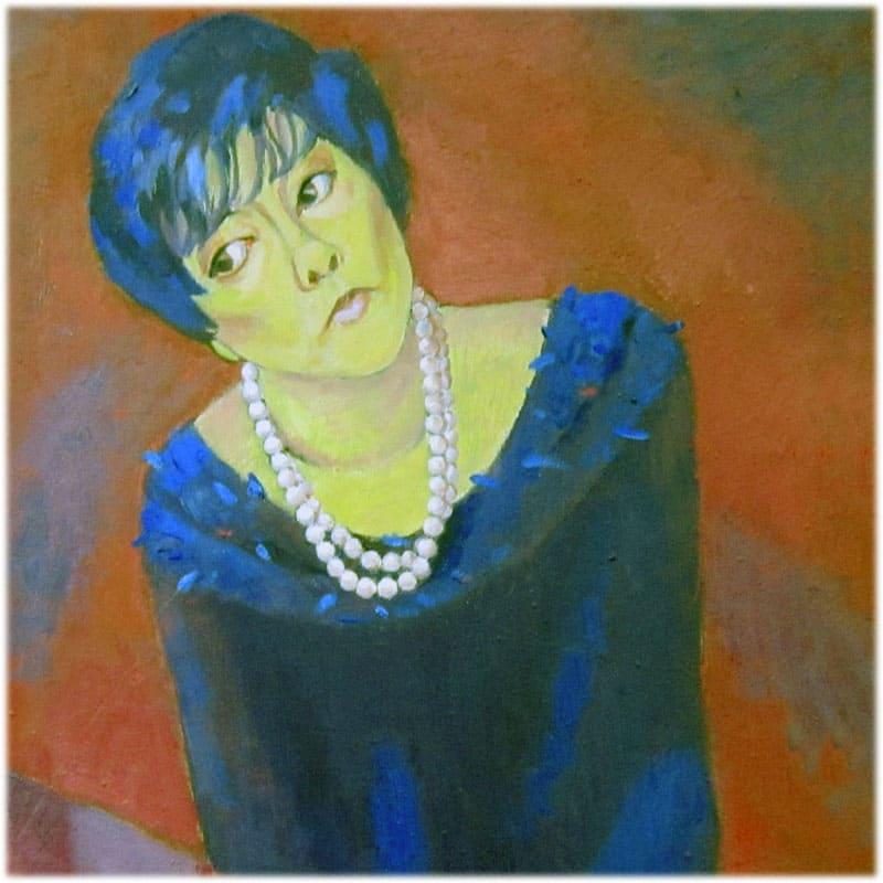Белла Ахмадулина портрет