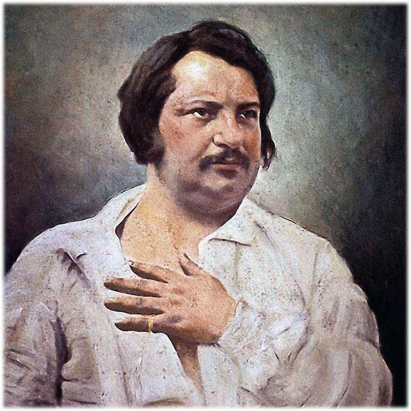 Оноре де Бальзак биография