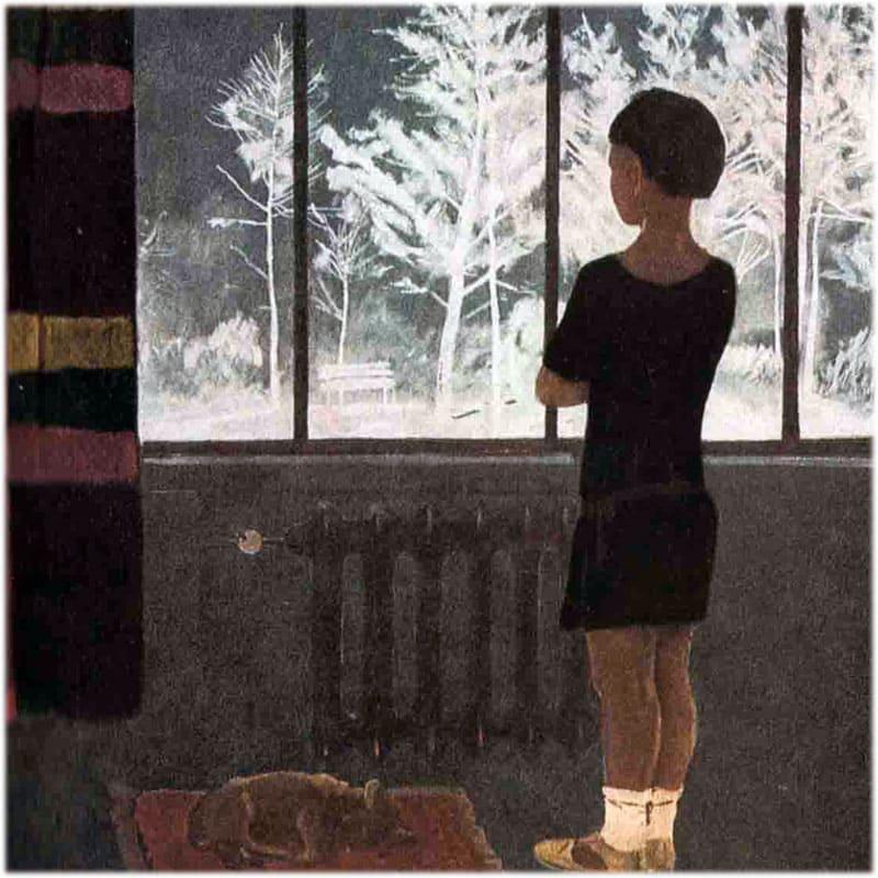 Сочинение по картине Дейнеки Девочка у окна
