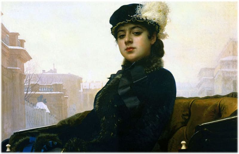 Картина Неизвестная Крамской