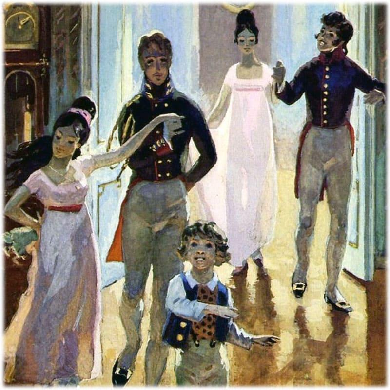 Война и мир: тема семьи, сочинение
