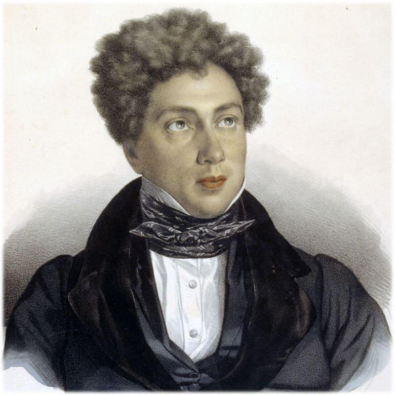 Александр Дюма в молодости