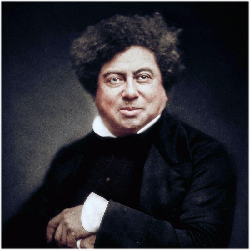Александр Дюма портрет