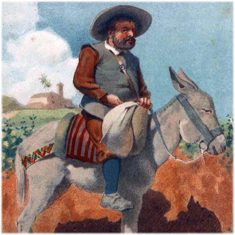 Образ и характеристика Санчо Панса