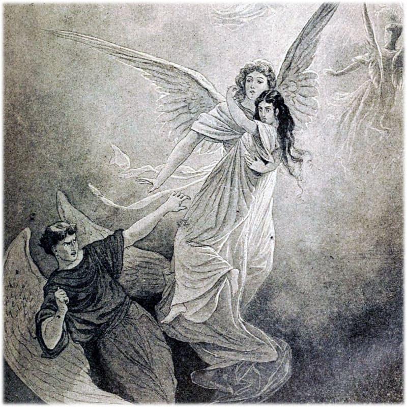 Ангел заступается за душу Тамары