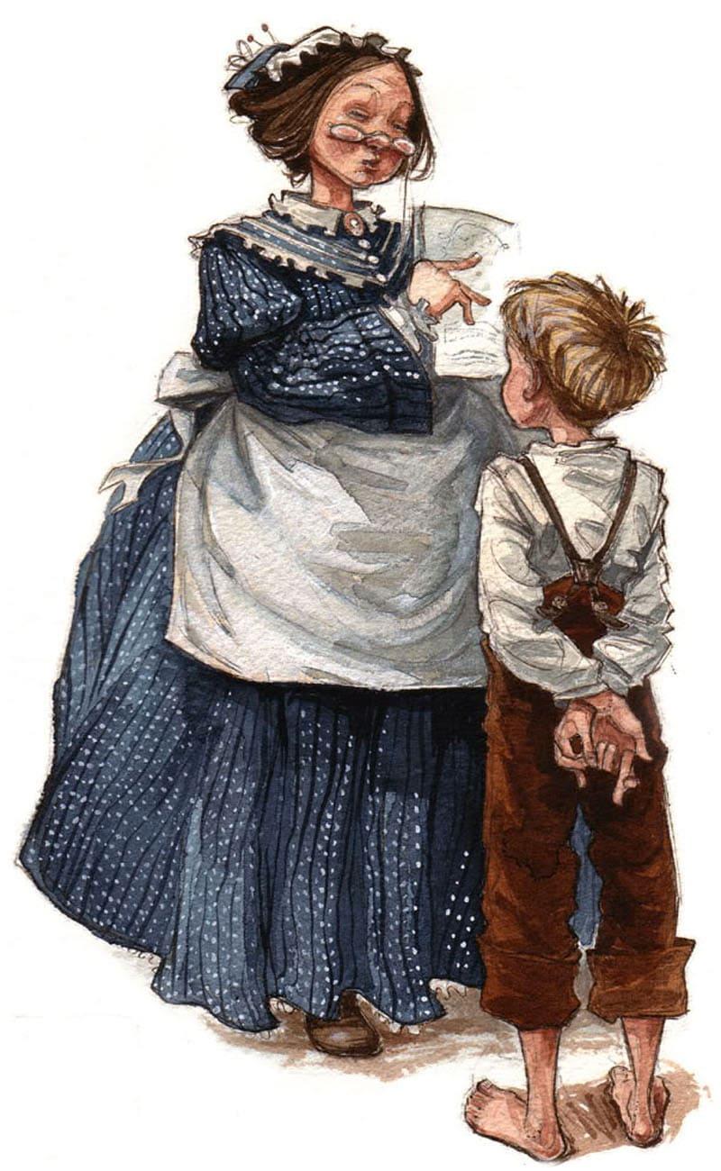 Образ тети Полли