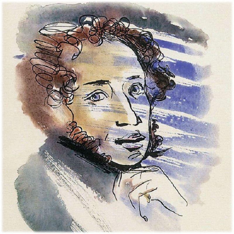 Лирика Пушкина, темы и мотивы сочинение