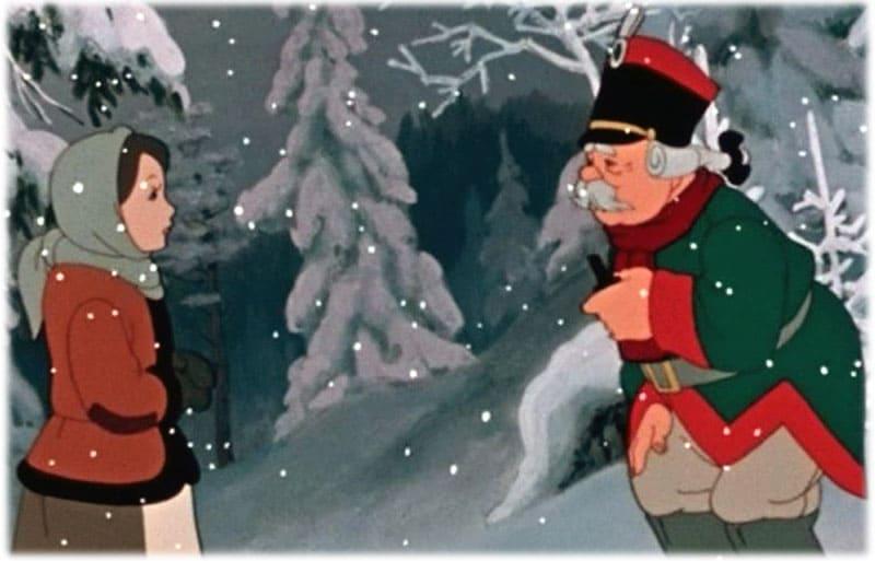 В лесу девочке повстречался солдат
