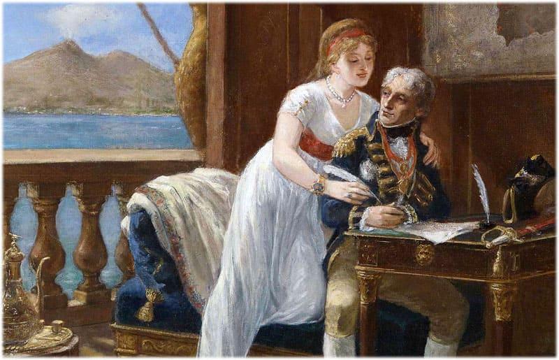 Лорд Нельсон и леди Гамильтон