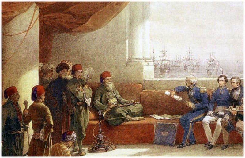 В Париж прибывает посол султана Эссеид-Али