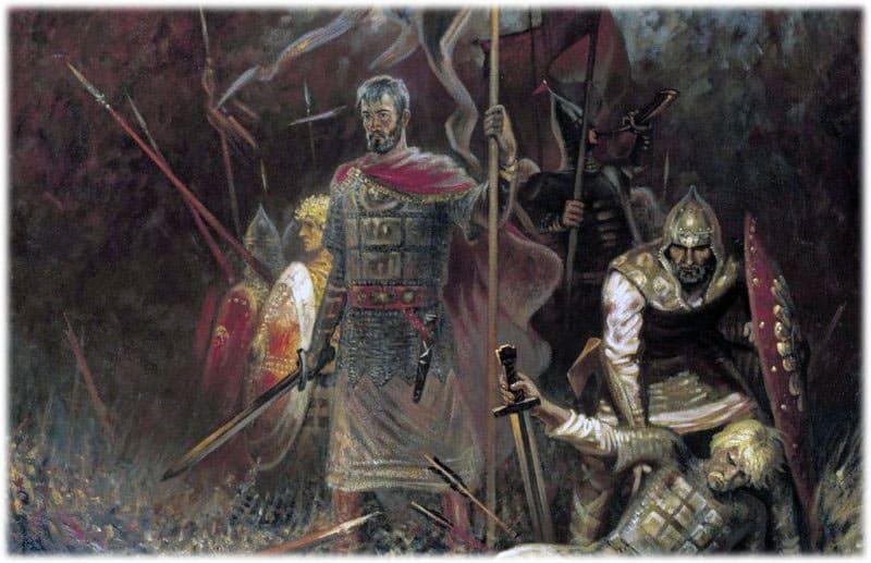 В битве с половецким войском русичи одержали победу