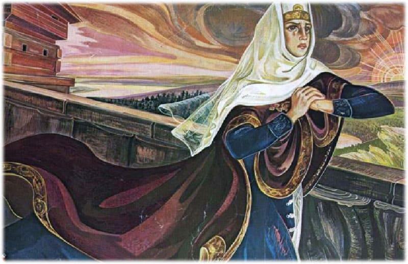 Образ и характеристика Ярославны