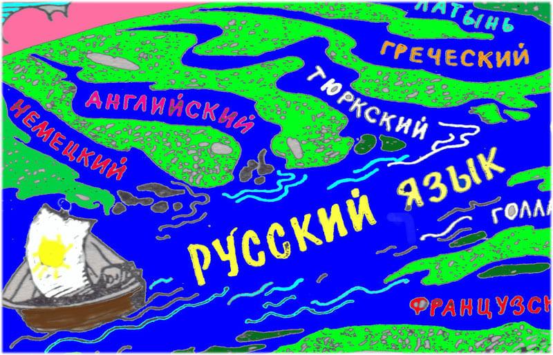 Великий и могучий русский язык сочинение
