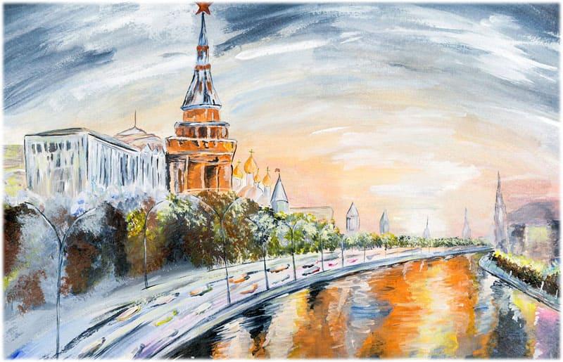 Сочинение о Москве