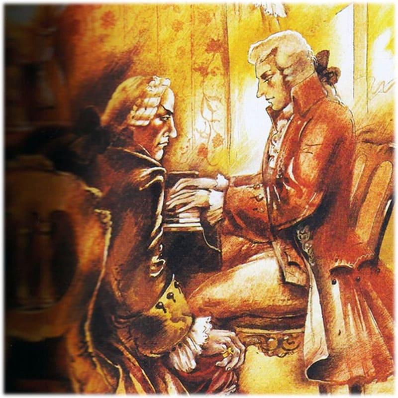 Сочинение Моцарт и Сальери