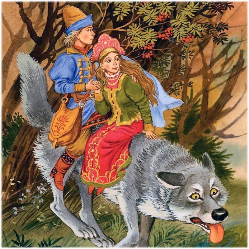 Сочинение Иван царевич на сером волке