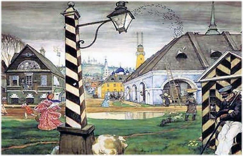 Образ города в комедии Ревизор сочинение