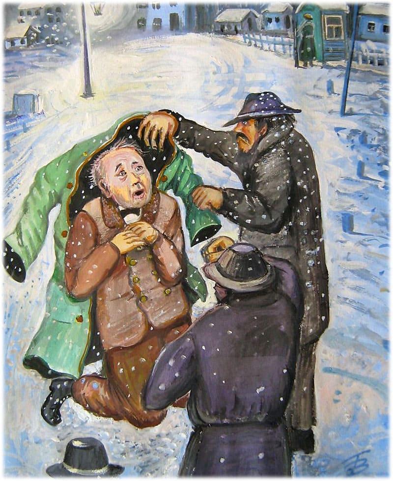Тема маленького человека в повести Гоголя Шинель