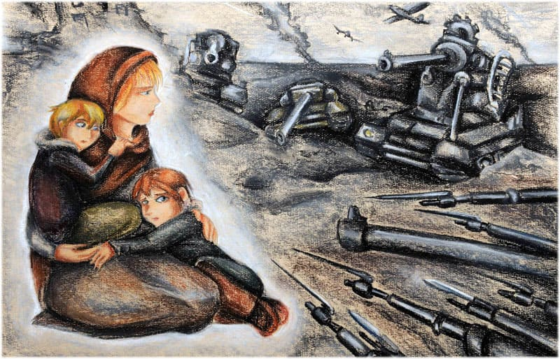 Человек и война сочинение