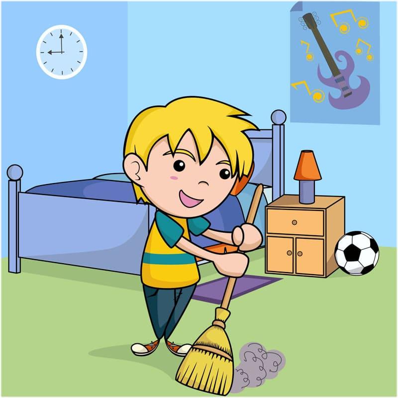 Как я убираю свою комнату сочинение