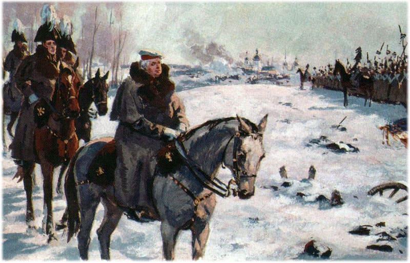 Исторические образы в романе Война и мир