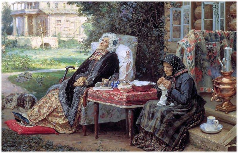 Картина Максимова Все в прошлом, сочинение